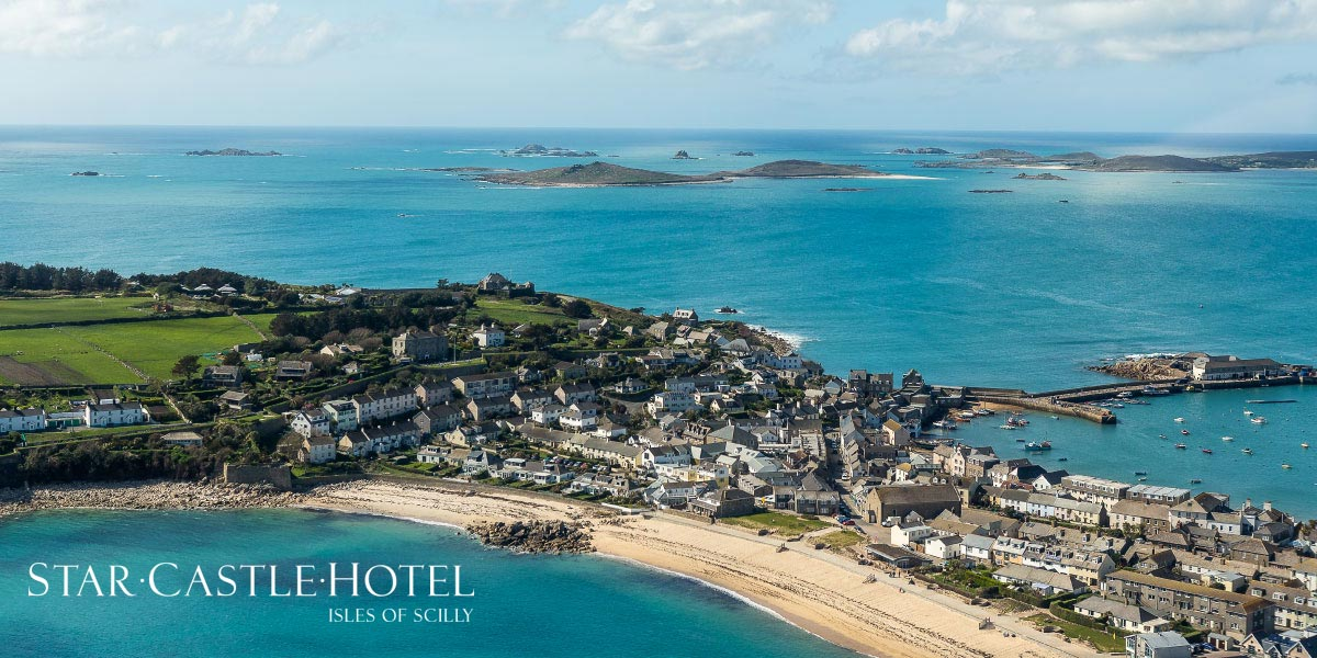 Website design for The Star Castle Hotel Isles of Scilly